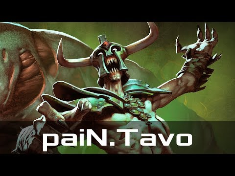 paiN.Tavo — Undying, Offlane (Apr 20, 2018)   Dota 2 patch 7.13 gameplay