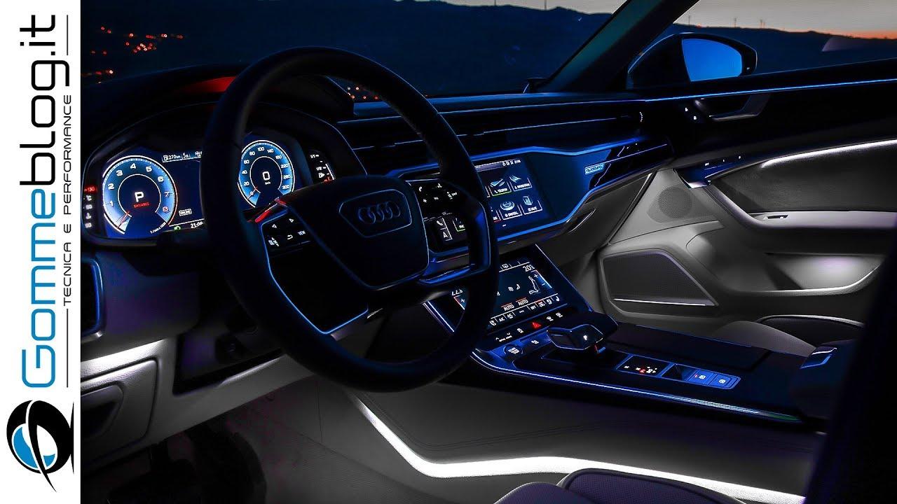 2018 Audi A6 - INTERIOR - YouTube