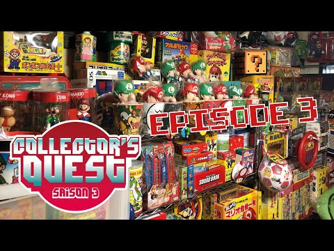 Collector's Quest Saison 3 au Japon (Ep.3) chez Kikai (Record Mondial goodies Mario)