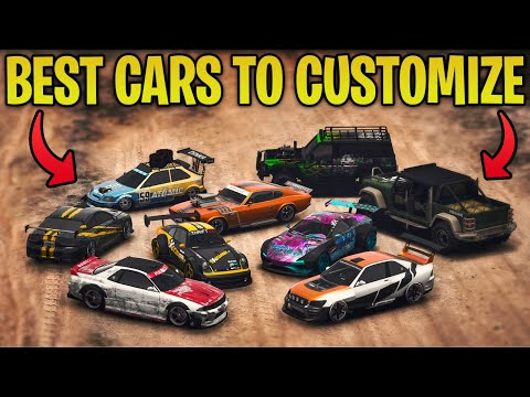 Top 10 BEST Cars To CUSTOMIZE In GTA 5 Online In 2020!