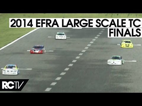 RC Car Racing - 2014 EFRA Large Scale Touring Car Euros -  The Final in HD!