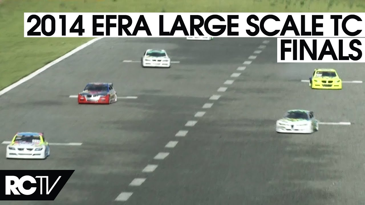 Large Scale Rc Car >> RC Car Racing - 2014 EFRA Large Scale Touring Car Euros - The Final in HD! - YouTube
