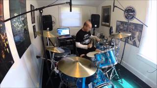 Genesis - Dance On A Volcano Drum Cover