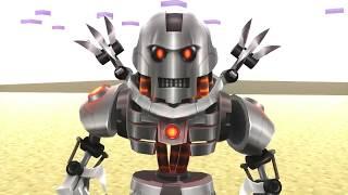 ROBLOX Monster School Minecraft VS Roblox Animation #3