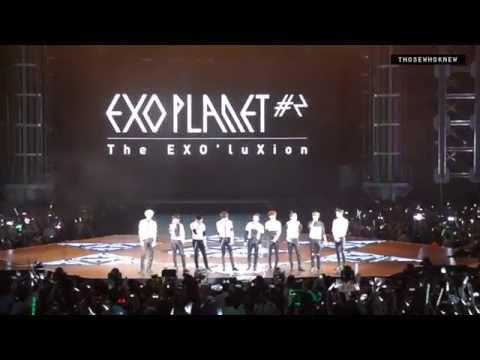 [fancam] EXO 150530 EXO'luxion Shanghai - INTRO + OVERDOSE + HISTORY + El DORADO + MENT + DONT GO