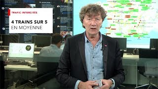 Grève nationale | Point Infotrafic #SNCF du vendredi 20 avril