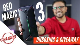 Nubia Red Magic 3 Unboxing + Giveaway - Win 2 Gaming Smartphones