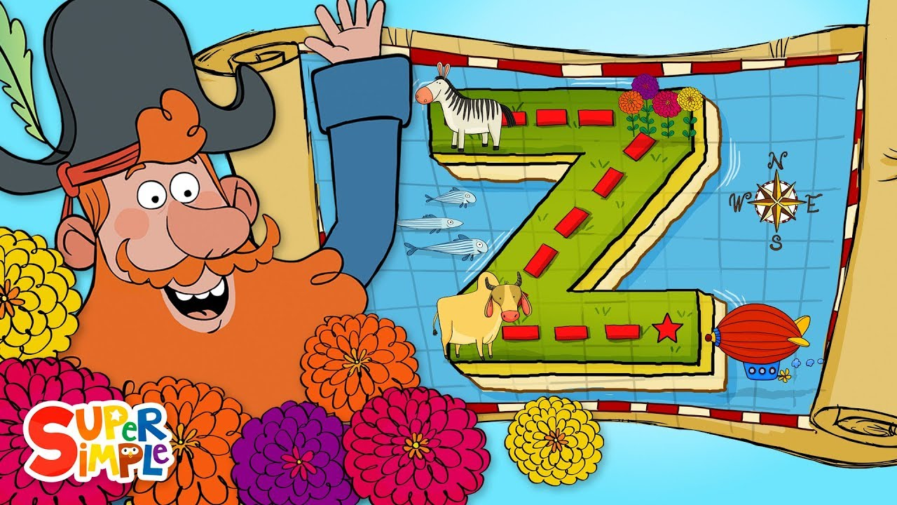 Captain Seasalt and the ABC Pirates go on a Zany Adventure on Z Island