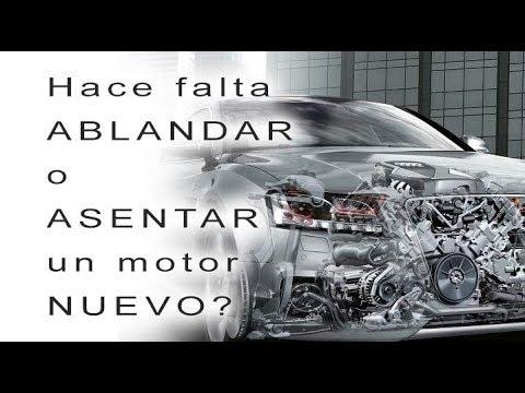 Hace falta ABLANDAR o ASENTAR un motor nuevo?