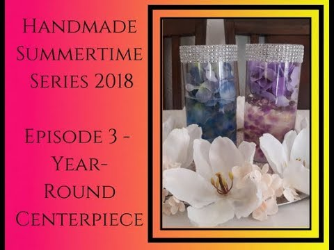 DIY Decor Tutorial, Dollar Tree Michaels Walmart, HS '18 Ep 3, Year Round Centerpiece