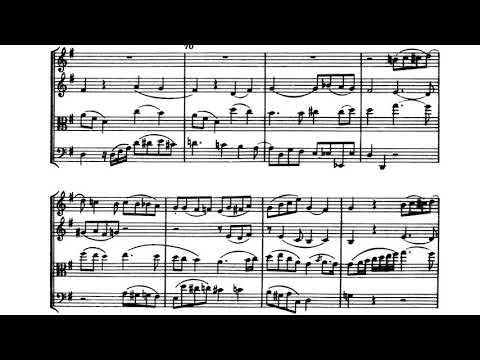 Haydn - String Quartet, Op. 76, No. 3 (score)