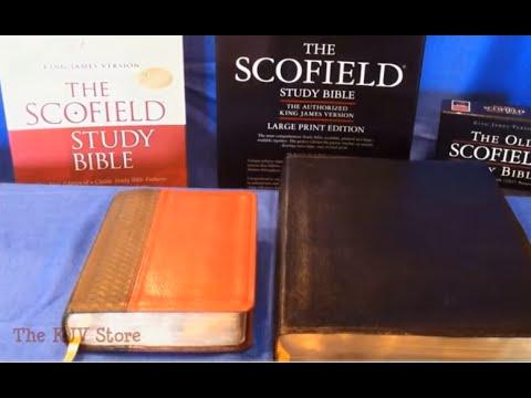 KJV Old Scofield Study Bible