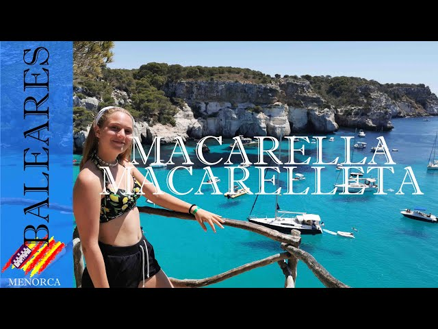 Cala Macarella (y Macarelleta) un paraíso azul | Menorca #2
