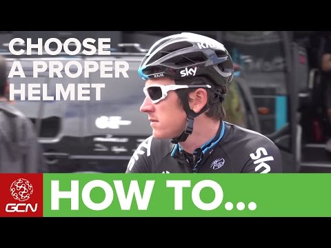 How To Choose The Proper Helmet: With Geraint Thomas of Team Sky