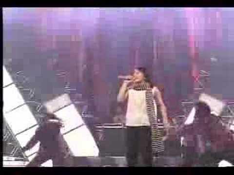 Eriko with Crunch Tsumetaku shinaide 3.12.1998