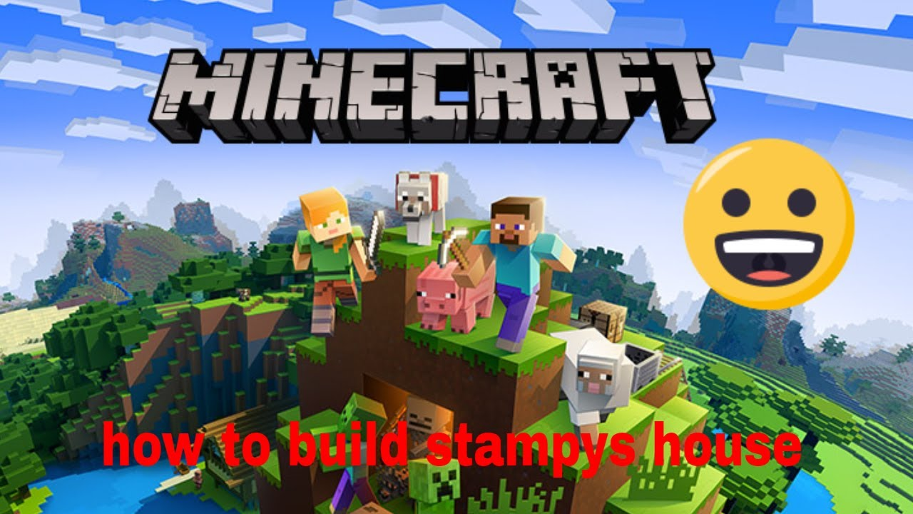 Minecraft How To Build Stampys House Youtube
