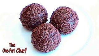 Chocolate Rum Balls - Recipe