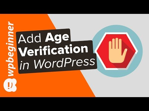 How to Add Age Verification in WordPress