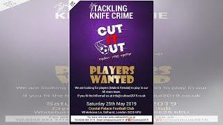 Cut It Out 2019 football tournament, Selhurst Park, May 25
