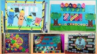 School notice board decoration ideas    amazing display board ideas for school