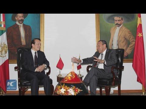 Xinhua Editor-in-Chief explains China's development plan to Mexican top legislator