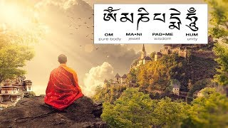 Gambar cover Om Mani Padme Hum chant with meaning - meditation music/song