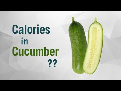 Healthwise: Diet Calories, How Many Calories in Cucumber? Calories Intake and Healthy Weight Loss