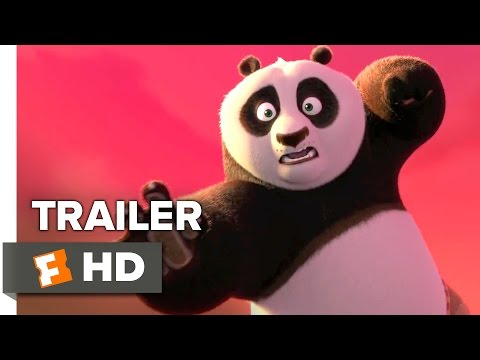 Kung Fu Panda 3 Official Trailer #1 (2016) - Jack Black, Angelina Jolie Animated Movie HD