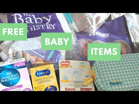 Free Baby Items - Canadian Freebies For Babies - Free Baby Stuff In Canada
