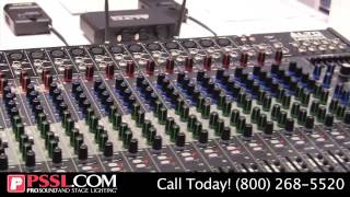 Live PA Mixer Series from Alto Professional - NAMM 2015 - PSSL