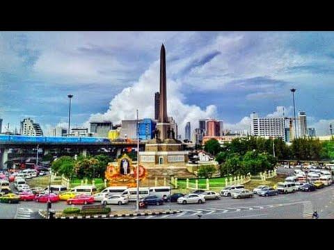 อนุสาวรีย์ชัย ขึ้นรถตรงไหนนัดเจอกันยังไงไม่ให้หลง Victory Monument (Bangkok) Clip.11