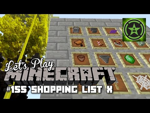 Let's Play Minecraft - Episode 155 - Shopping List X