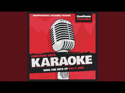 Movin' Out (Anthony's Song) (Originally Performed by Billy Joel) (Karaoke Version)
