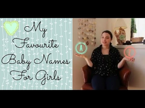 ABC Favourite Baby Girl Names Tag
