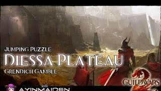 ★ Guild Wars 2 ★ - Jumping Puzzle - Diessa Plateau (Grendich Gamble)