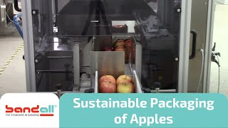 Environment friendly packaging apples
