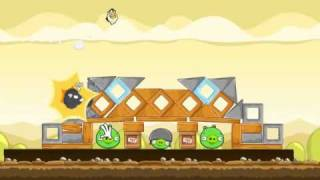 Angry Birds Gameplay #5 Mighty Hoax Level 5/1-21