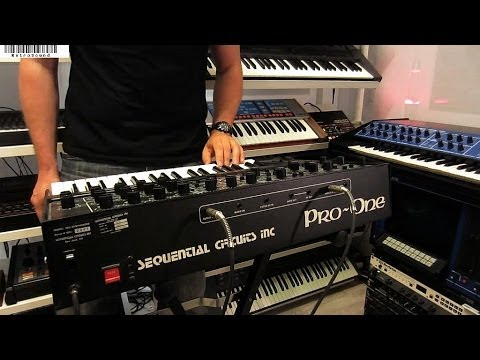 """Sequential Circuits Pro-One Analog Synthesizer """"Lost 80s"""""""