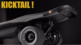 New KICKTAIL electric Skateboard Urban 80 Slick Revolution Overview