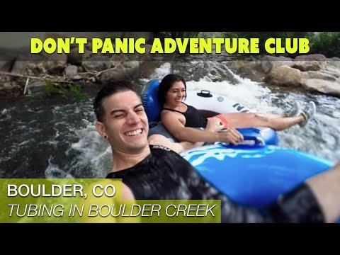 Tubing in Boulder Creek (Boulder, CO)