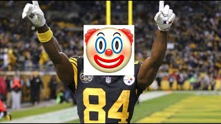 Antonio Brown Fails and Funny Moments