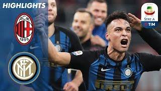 AC Milan 2-3 Inter | L'Inter esce vincitrice da un derby intenso | Serie A