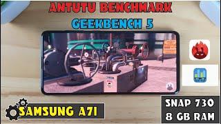 samsung A71 Antutu Benchmark  Geekbench 5 test