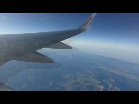 ᴴᴰ✈Air Europa Full Flight✈Madrid Barajas to Rome Fiumicino✈B737-800