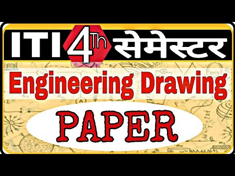 ITI 4th semester Engineering Drawing  questions,expected 4th sem iti exam questions