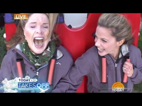 'Mommy!' Jenna Bush Hager Screams On 'Terror-dactyl' | TODAY