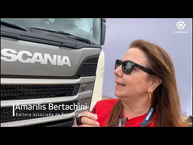 Scania vai fabricar caminhão a gás no Brasil em 2020