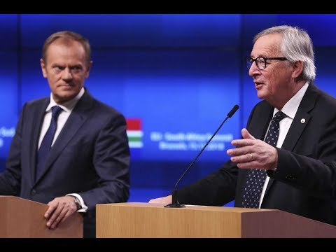 Live: Donald Tusk and Jean-Claude Juncker on EU offering UK Brexit delay | ITV News