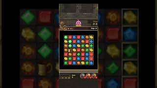 Jewels Temple-Quest 💎 Level 44 ⭐⭐ - 2021 Match 3 Game no Booster 👑 Android Gameplay ✅ screenshot 5