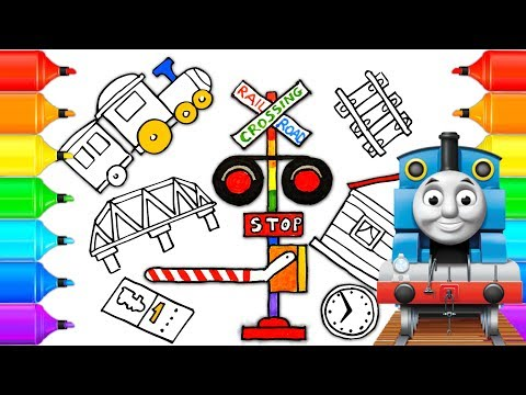 railway safety printables | Coloring and Activity Pages ... | 360x480